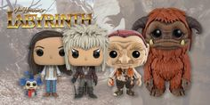 Celebrate 30 years of #Labyrinth with the new Funko Pops