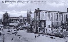 Leuven Oude Markt 1914