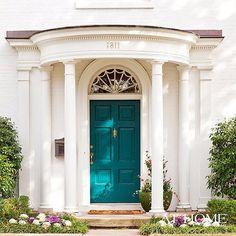 """Um dia ainda mando pintar a minha porta de casa☺️#Repost @sweetgeorgiasweet ・・・ Dear Turquoise. Forgive me. I knew not how much I loveth thee. xoxoxo…"""