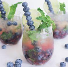 Blueberry Mojito Cocktail Recipe | POPSUGAR Food