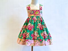 Hey, I found this really awesome Etsy listing at https://www.etsy.com/listing/186014973/toddlers-reverse-knot-dress-easter-dress