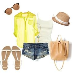Summer clothes--green shirt for #summer outfits #my summer clothes #summer clothes