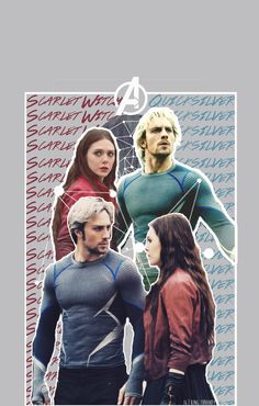 Quicksilver & Scarlet Witch, Avengers: Age of Ultron