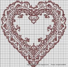 Beautiful cross stitch pattern
