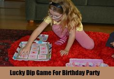 Lucky Dip Game For Birthday Party