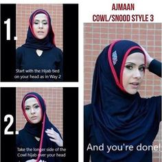 Do you like how @mintyogini draped her AJMAAN hijab while doing some awesome yoga moves? Here's a quick AJMAAN pin free snood /cowl hijab tutorial. There are six ways to tie this hijab - all without the need for pinning! More tutorials in the rest of our feed or on Facebook under albums / Tutorials. Share your look for a chance to be featured on one of our social media accounts! ******************************* All cowls come eth two complementary hijab bands to complete your look.  Price…