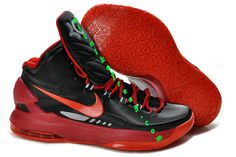 the best attitude f6a2f aab93 Pas Cher KD V couleur noire Sport Rouge 554988 005 Nike Zoom Kevin Durant  Chaussures 2013