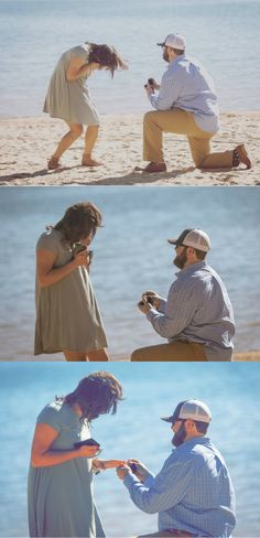 This beach proposal was a perfect surprise, and the full story is amazing!