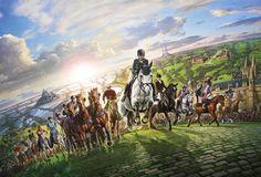 Juegos Ecuestres Mundiales 2014 en Normandía