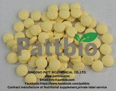 #Folic Acid Tablet 400mg#, Ingredient:Folic Acid Excipients:Microcrystalline Cellulose, Calcium Hydrophosphate, Magnesium Stearate, Silicon Oxide,  Sodium Carboxymethyl Cellulose Contract manufactured by Qingdao Patt Biochemical Co.,Ltd.www.pattbio.com