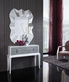 Calidad y diseños al mejor precio. Recibidor Dis-arte. www.decoraciongimenez.com/recibidores.