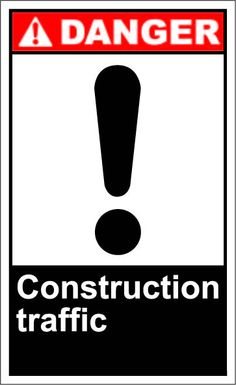 Construction traffic $1.64 #signs