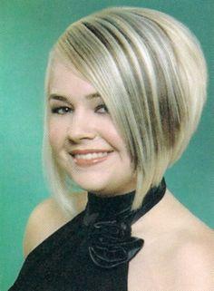 haircuts,graduated bob | Line Bob Haircut - Free Download Severe Graduated A Line Bob Haircut ...