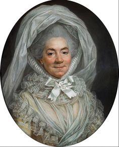 Portrait of Louise de la Mott, Mme Poisson, c.1783, by Joseph Ducreux. http://www.pastellists.com/Essays/Ducreux_Poisson.pdf