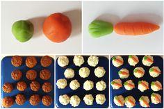 🐰🥚 Passez un agréable weekend de Pâques ! 🐣🔔 (carrot cupcakes)