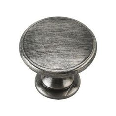 Richelieu Hardware 1-3/4 in. Brushed Pewter Cabinet Knob BP881242 at The Home Depot - Mobile
