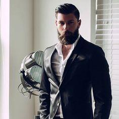 Bearded #Gentleman | feat. @fracrox  photography by @lauriesatran