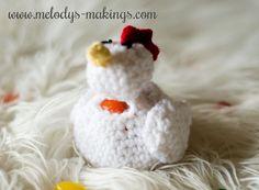 Easy Chicken Easter Pattern