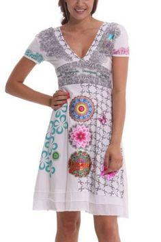 Desigual Dress – DenimBar Decollete, Fasion, Dress Up, Online Winkelen,  Hippiemode, 3e068b910351