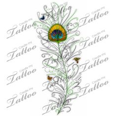 Looking for the perfect tattoo design? Here at Create My Tattoo, we specialize in giving you the very best tattoo ideas and designs for men and women. We host over unique designs made by our artists over the last 8 y I Tattoo, Cool Tattoos, Tatoos, Create My Tattoo, Custom Tattoo, Tattoo Inspiration, Peacock, Tatting, Tattoo Designs