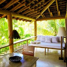Private Terrace Of Casa Quintal Da Gloria At Uxua Hotel Spa Trancoso Bahia Brazil