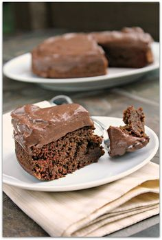 Super easy, super tasty Engine 2 chocolate cake, aka the Adonis Cake.