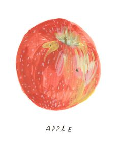 """'Apple' by Rebecca Green. """"Burst through the gates of history, and hang the apple on the tree. """" {kathleen*}"""