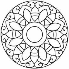 Ornate Mandala design (UTH1653) from UrbanThreads.com