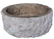 Chiseled cylindrical vessel sink in noce travertine Rustic Bathroom Sinks, Vessel Sink Bathroom, Bathroom Ideas, Stone Sink, Travertine, Natural Stones, Decorative Bowls, Cabin Ideas, Powder