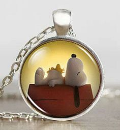 8fe07f6d4 Buy this Cute Puppy Dog Snoopy Woodstock Silver Pendant Necklace FREE  SHIPPING Horse Necklace, Horse