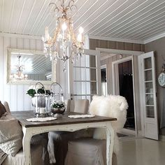 Decor, Furniture, Room, Home, Room Interior, Inspiration, Small Rooms, Interior Design, Rustic Dining Table