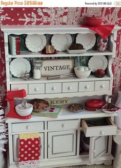 A personal favorite from my Etsy shop https://www.etsy.com/listing/498899753/on-sale-miniature-dollhouse-white-and