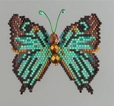 Black-veined Hairstreak Butterfly  Pattern by WizardIslandDesigns....I'm in love with these butterflies!!