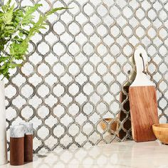 Veranda Paris Gray Quartz & Mirror Tile | Tilebar.com Mirror Mosaic, Mirror Tiles, Mosaic Glass, Mosaic Tiles, Wall Tiles, Shower Mirror, Mirror Glass, Cascade Falls, Sanded Grout