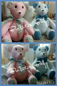 Ursos para decoração de quarto de bebê