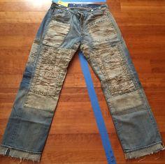 Levis LVC 1917 Homer Campbell 150 Celebration Very Rare #LeviLVC #BaggyLoose. Deze jeans heb ik ook ooit bemachtigd via Ebay. Lijkt een fortuin waard zo te zien.