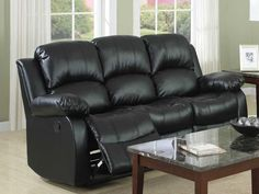 Tips That Help You Get The Best Leather Sofa Deal. Leather sofas and leather couch sets are available in a diversity of colors and styles. A leather couch is the ideal way to improve a space's design and th Couch And Loveseat Set, Sofa Lounge, Sectional Sofa With Recliner, Sofa Couch, Comfy Sofa, Sofas, Recliners, Couches, Modern Leather Sofa