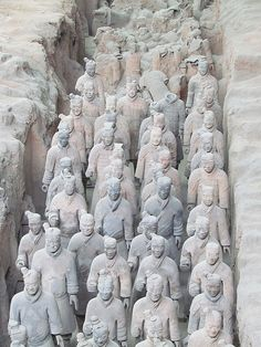 Xi'an,China - the start (or end) of the Silk Road. A foodies favourite - try guan tang baozi, steamed buns filled with moorish fillings and gravy before visiting the impressive Terracotta Warriors.
