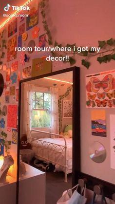 Room Design Bedroom, Cute Bedroom Decor, Room Ideas Bedroom, Small Room Bedroom, Bedroom Ideas For Small Rooms, Cheap Room Decor, Bad Room Ideas, Cute Room Ideas, Bedroom Inspo