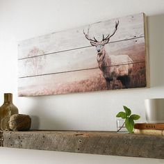 "Discover even more details on ""metal tree wall art decor"". Take a look at our internet site. Metal Tree Wall Art, Wood Wall Art, Art On Wood, Painted Wall Art, Deer Wall Art, Hirsch Illustration, Barn Wood Crafts, Pallet Art, Cheap Home Decor"
