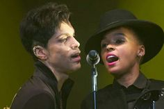 Prince and Janelle Monae