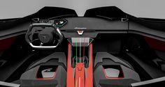 Lamborghini Diamante Concept Interior