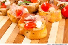 Baguette mit Käse und Schinken überbacken