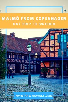 The Swedish city of Malmö is located less than 30 minutes away from Copenhagen, which makes it the perfect day trip from the Danish capital. Home to the tallest building in Scandinavia, beautiful parks and traditional Swedish architecture, you can't miss Sweden's third largest city!
