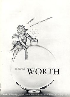"Worth (Perfumes) 1960 ""Je Reviens"" Photo Lejeune"