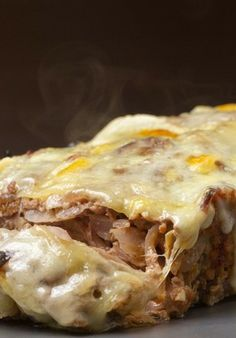 French Onion Meatloaf~ This dish takes all of the best aspects of French onion soup and puts them together in a healthy, hearty meatloaf. It's incredibly easy (and fun!) to assemble, making it perfect for any time!