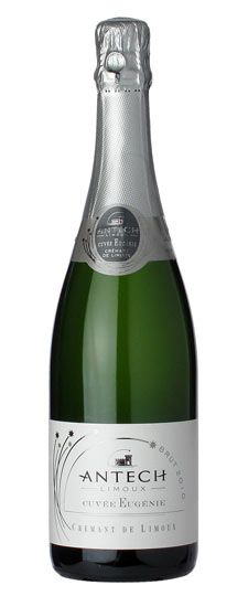 2010 Antech Cuvée Eugenie Cremant de Limoux $13.99.  Looks like a good one to try.