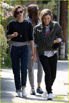 Kristen Stewart & friends out in LA, 5/21/15