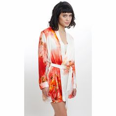 Ashley Robe - Red Orchid
