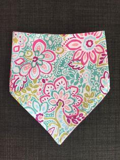 A personal favorite from my Etsy shop https://www.etsy.com/listing/262590444/floral-print-baby-bibdana-trendy-bandana